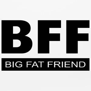 BFF - Big Fat Friend Other - Mouse pad Horizontal