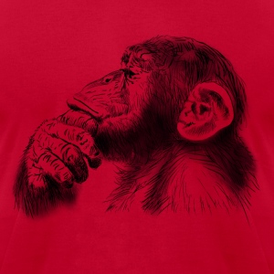 monkey T-Shirts - Men's T-Shirt by American Apparel