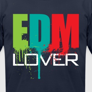 EDM Lover - Men's T-Shirt by American Apparel