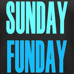SUNDAY FUNDAY TANK TOP - Women's Premium Tank Top
