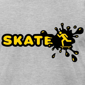 Skate Splash T-Shirts - Men's T-Shirt by American Apparel