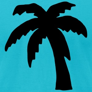 Palm tree T-Shirts - Men's T-Shirt by American Apparel