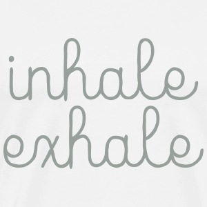 Inhale, Exhale T-Shirts - Men's Premium T-Shirt
