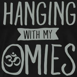 Hanging With My Omies T-Shirts - Men's Premium T-Shirt