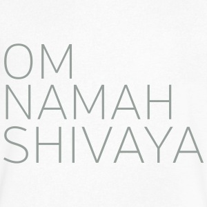 Om Namah Shivaya T-Shirts - Men's V-Neck T-Shirt by Canvas