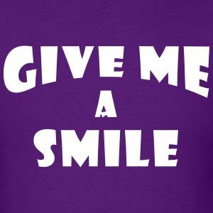 Give me a smile 2 T-Shirts - Men's T-Shirt