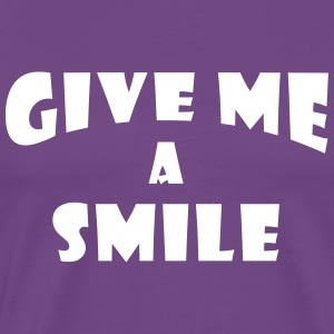 Give me a smile 2 T-Shirts - Men's Premium T-Shirt