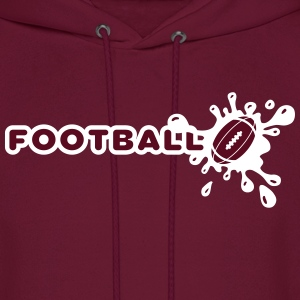Football Splash Hoodies - Men's Hoodie