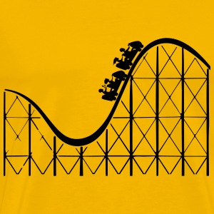 roller coaster - Men's Premium T-Shirt