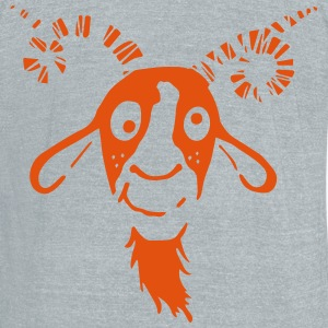 Funny Goat T-Shirts - Unisex Tri-Blend T-Shirt by American Apparel