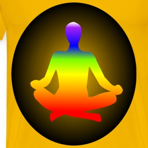 Chakra Meditation - Men's Premium T-Shirt