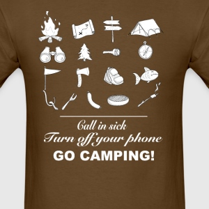 Go camping - Men's T-Shirt