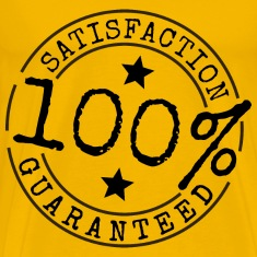 100 percent Satisfaction Guaranteed Brand
