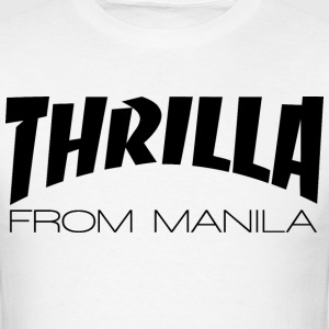 THRILLA FROM MANILA BLACK T-Shirts - Men's T-Shirt