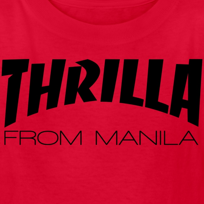 Pacquiao THRILLA FROM MANILA Kids Shirt by AiReal Apparel