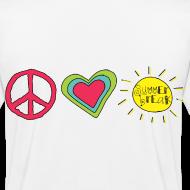 Design ~ Double Sided Happy Last Day / Peace Love Summer Break | Teacher Shirt