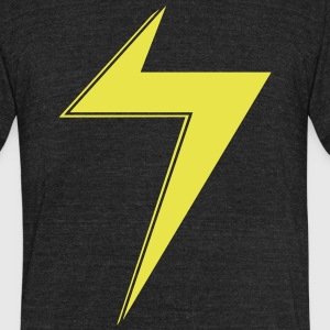 Ms Marvel Bolt T-Shirts - Unisex Tri-Blend T-Shirt by American Apparel