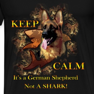 German Shepherd T-shirt - It's a German Shepherd - Men's Premium T-Shirt