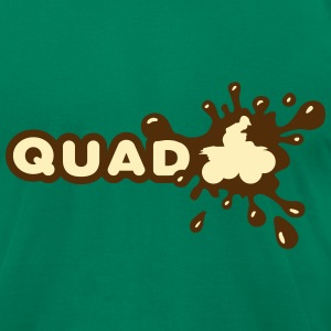 Quad Splash T-Shirts - Men's T-Shirt by American Apparel