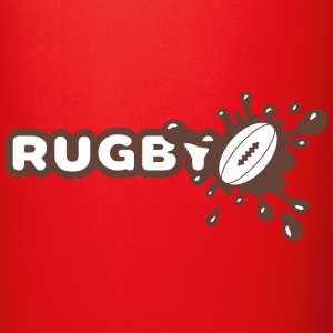 Rugby Splash Mugs & Drinkware - Full Color Mug