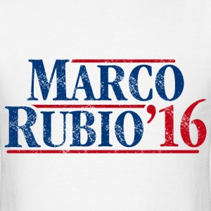 Marco Rubio 2016 (distressed) - Men's T-Shirt
