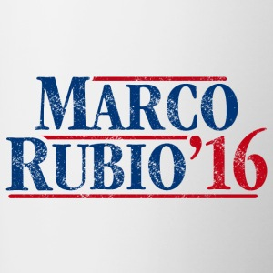Marco Rubio 2016 (distressed) - Contrast Coffee Mug