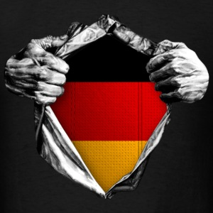 German (Inside me) - Men's T-Shirt