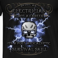 Electrician T-shirt - Being an electrician