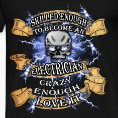 Electrician T-shirt - Become an electrician