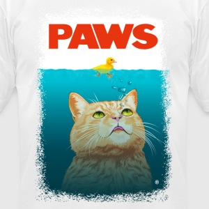 Paws! T-Shirts - Men's T-Shirt by American Apparel
