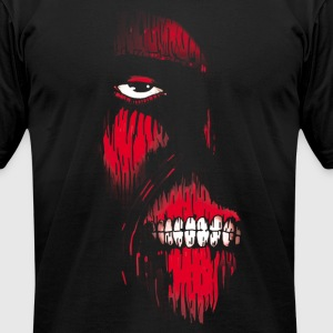 Red Face - Men's T-Shirt by American Apparel