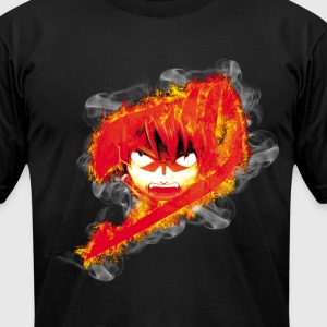 fairy tail fire - Men's T-Shirt by American Apparel