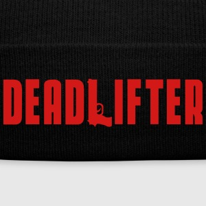 DEADLIFTERHAT Caps - Knit Cap with Cuff Print