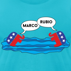 Marco Rubio Marco Polo T-Shirts - Men's T-Shirt by American Apparel