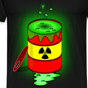 Toxic nuclear barrel - Men's Premium T-Shirt