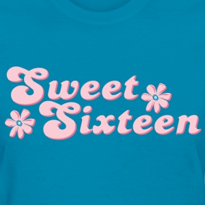 Sweet Sixteen Flower Women's T-Shirts - Women's T-Shirt