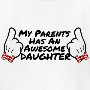 AWESOME DAUGHTER KID T-SHIRT - Kids' T-Shirt