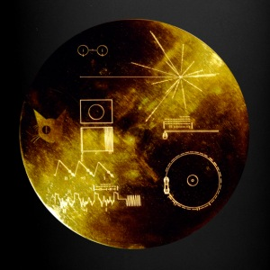 voyager gold record - Full Color Mug