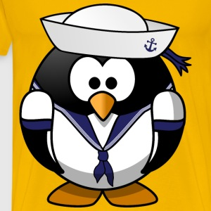 Sailor penguin - Men's Premium T-Shirt