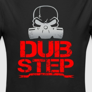dubstep skull - Long Sleeve Baby Bodysuit