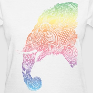half elephant - Women's T-Shirt