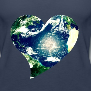 Earth Day Love - Women's Premium Tank Top