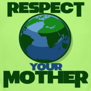 Earth day respect mother earth - Short Sleeve Baby Bodysuit
