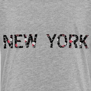 New York Floral - Kids' Premium T-Shirt
