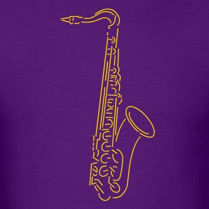 saxophone - Men's T-Shirt