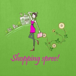shopping spree! - Tote Bag