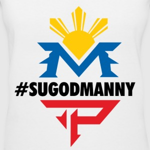 #SUGODMANNY - Women's V-Neck T-Shirt