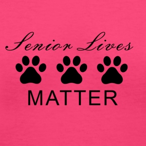 Senior Lives Matter Ladies V Neck Shirt - Women's V-Neck T-Shirt