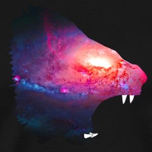 Space Lion Roar - Men's Premium T-Shirt