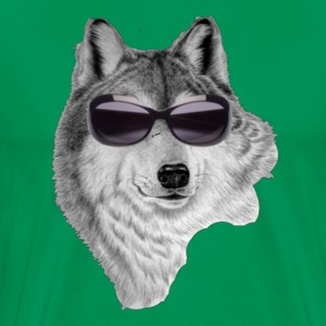 Funny Wolf T-Shirts - Men's Premium T-Shirt